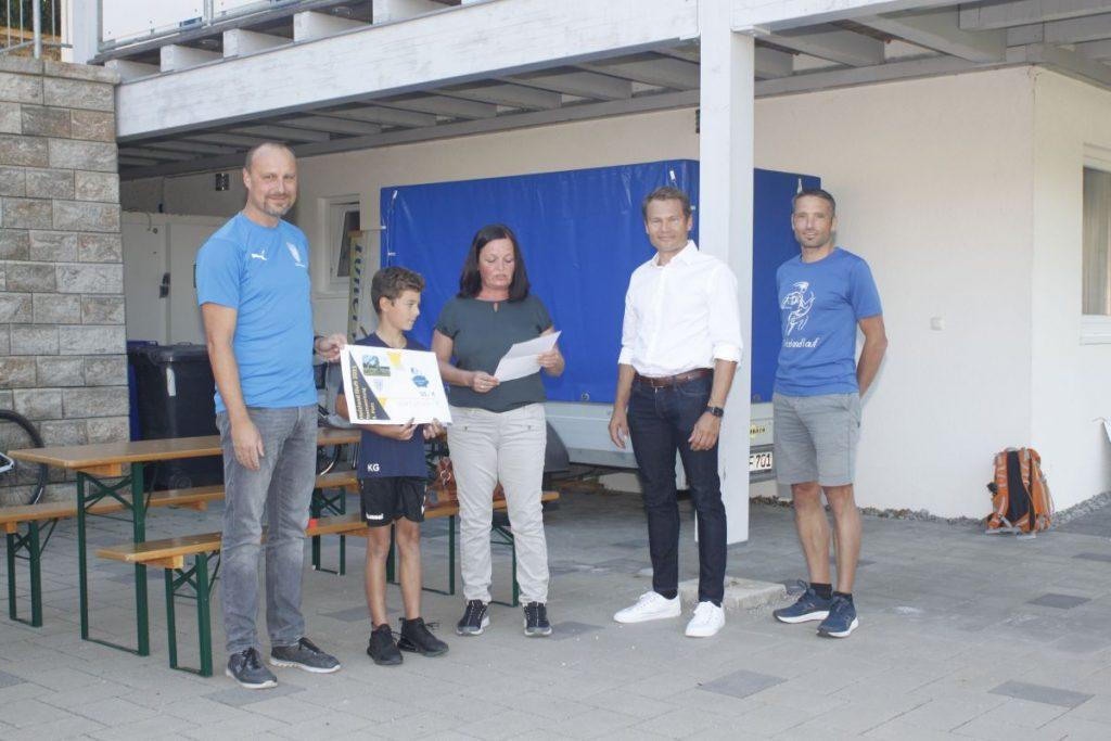 3. Platz TSV Reischach Fußball E-Jugend