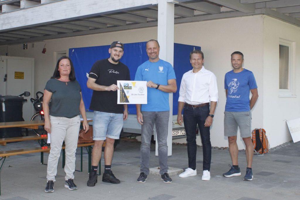 2. Platz TSV Reischach Fußball Herren 1+2
